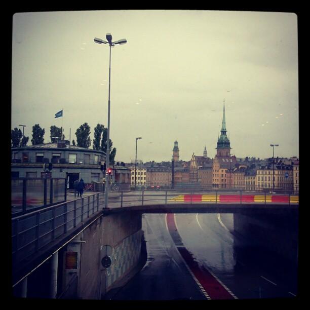 Rainy Stockholm