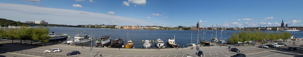 Panorama: Södra Mälarstrand
