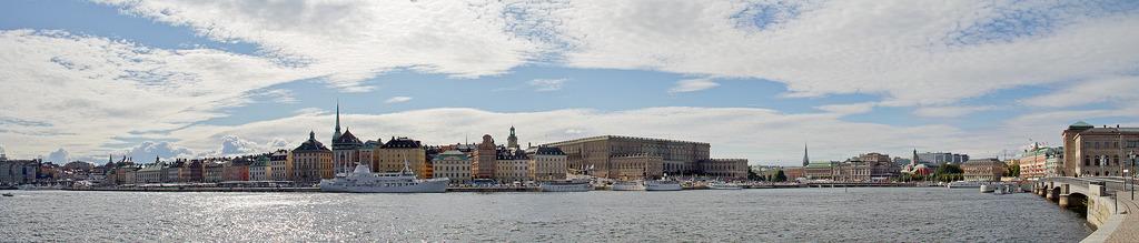 Gamla-Stan-Panorama von der Af Chapman