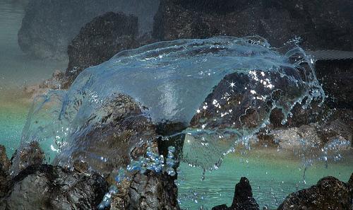 Hochstrahlbrunnen Detail
