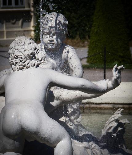 Nacktarschbrunnen