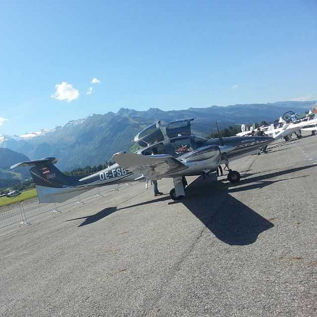Traumwetter in Zell #nofilter  #airexpo